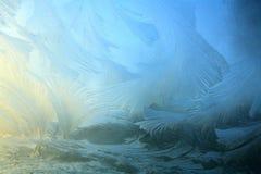 πρότυπο πάγου Στοκ φωτογραφίες με δικαίωμα ελεύθερης χρήσης