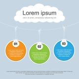 Πρότυπο παρουσίασης Infographics # 10 Στοκ εικόνες με δικαίωμα ελεύθερης χρήσης
