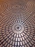 πρότυπο πατωμάτων κύκλων π&omicron Στοκ Φωτογραφία