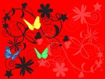 πρότυπο πεταλούδων Στοκ Φωτογραφίες