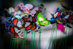 Πρότυπο πεταλούδων στοκ εικόνα με δικαίωμα ελεύθερης χρήσης