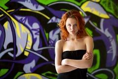 πρότυπο πορτρέτο μόδας Στοκ φωτογραφίες με δικαίωμα ελεύθερης χρήσης