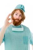 Πρότυπο που απομονώνεται στη σαφή χειρονομία χεριών υποβάθρου εντάξει Στοκ φωτογραφία με δικαίωμα ελεύθερης χρήσης