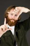 Πρότυπο που απομονώνεται στη σαφή χειρονομία χεριών υποβάθρου Στοκ φωτογραφίες με δικαίωμα ελεύθερης χρήσης