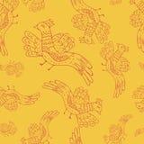 Πρότυπο πουλιών κινούμενων σχεδίων Στοκ φωτογραφία με δικαίωμα ελεύθερης χρήσης