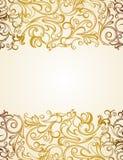 Πρότυπο πρόσκλησης σχεδιάστε floral σύγχρονο ελεύθερη απεικόνιση δικαιώματος