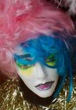 Πρότυπο πρόσωπο Στοκ φωτογραφία με δικαίωμα ελεύθερης χρήσης