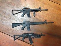 Πρότυπο πυροβόλων όπλων Στοκ Φωτογραφίες