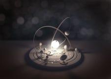 Πρότυπο πλανηταρίων Στοκ φωτογραφία με δικαίωμα ελεύθερης χρήσης