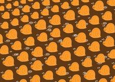 Πρότυπο σαλιγκαριών Στοκ εικόνες με δικαίωμα ελεύθερης χρήσης