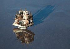 Πρότυπο σκάφος πανιών Στοκ Εικόνες
