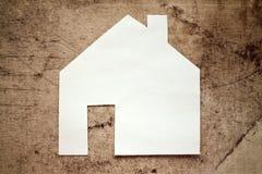 Πρότυπο σπίτι, οικοδόμηση, οικοδόμηση Στοκ Φωτογραφίες