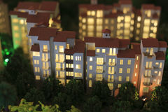Πρότυπο σπιτιών Στοκ Εικόνες