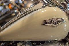 Πρότυπο συνήθειας οδικών βασιλιάδων του Harley Davidson στοκ φωτογραφία