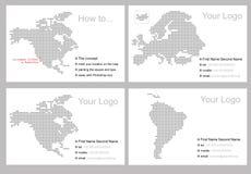 πρότυπο σχεδίου επαγγε& Στοκ φωτογραφίες με δικαίωμα ελεύθερης χρήσης