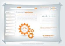 Πρότυπο σχεδίου ιστοχώρου απεικόνιση αποθεμάτων