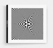Πρότυπο σχεδίου κάλυψης Γραπτό σχέδιο abstract background striped διανυσματική απεικόνιση