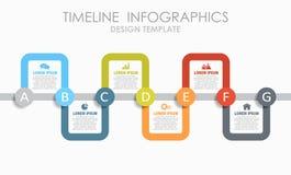 Πρότυπο σχεδίου Infographic με τη θέση για τα στοιχεία σας επίσης corel σύρετε το διάνυσμα απεικόνισης απεικόνιση αποθεμάτων
