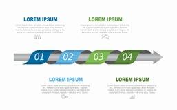 Πρότυπο σχεδίου Infographic με τη θέση για τα στοιχεία σας επίσης corel σύρετε το διάνυσμα απεικόνισης στοκ εικόνες