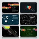 Πρότυπο σχεδίου επαγγελματικών καρτών Στοκ Φωτογραφίες