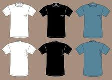Πρότυπο σχεδίου μπλουζών Στοκ Φωτογραφίες