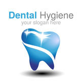 Πρότυπο σχεδίου λογότυπων οδοντιάτρων Σύμβολο δοντιών για την οδοντική κλινική ή σημάδι για την οδοντική υγιεινή διανυσματική απεικόνιση