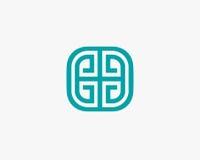 Πρότυπο σχεδίου λογότυπων πολυτέλειας Στοκ φωτογραφία με δικαίωμα ελεύθερης χρήσης
