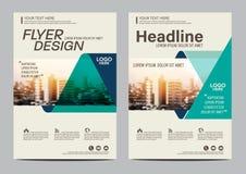 Πρότυπο σχεδίου σχεδιαγράμματος φυλλάδιων Σύγχρονο υπόβαθρο παρουσίασης κάλυψης φυλλάδιων ιπτάμενων ετήσια εκθέσεων απεικόνιση A4