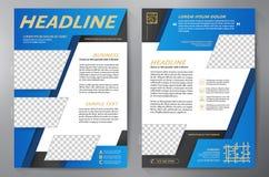 Πρότυπο σχεδίου φυλλάδιων a4 ελεύθερη απεικόνιση δικαιώματος