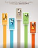 Πρότυπο σχεδίου Infographic απεικόνιση αποθεμάτων