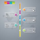 Πρότυπο σχεδίου Infographics Στοκ εικόνα με δικαίωμα ελεύθερης χρήσης