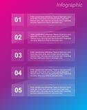 Πρότυπο σχεδίου Infographics Στοκ φωτογραφίες με δικαίωμα ελεύθερης χρήσης