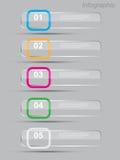 Πρότυπο σχεδίου Infographics Στοκ εικόνες με δικαίωμα ελεύθερης χρήσης