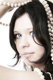 πρότυπο σχοινί μαργαριταρ& Στοκ Φωτογραφίες