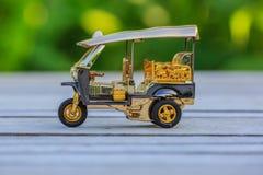 Πρότυπο ταξί Ταϊλάνδη Tuk Tuk Στοκ Φωτογραφίες