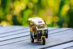 Πρότυπο ταξί Ταϊλάνδη Tuk Tuk Στοκ εικόνα με δικαίωμα ελεύθερης χρήσης