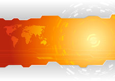 Πρότυπο ταπετσαριών υψηλής τεχνολογίας Στοκ Εικόνα