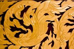πρότυπο Ταϊλανδός τέχνης Στοκ φωτογραφίες με δικαίωμα ελεύθερης χρήσης
