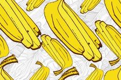 πρότυπο της Χαβάης aloha άνευ ρ&alph Ώριμα φρούτα χυμού συρμένο χέρι Στοκ εικόνα με δικαίωμα ελεύθερης χρήσης