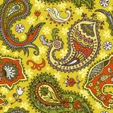 πρότυπο του Paisley άνευ ραφής Στοκ Εικόνες