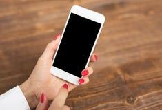 Πρότυπο του smartphone Στοκ Εικόνα