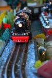 Πρότυπο τραίνο ατμού Στοκ Εικόνα