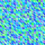Πρότυπο τριγώνων άνευ ραφής διάνυσμα ανασκό Στοκ Εικόνες