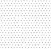 Πρότυπο τριγώνων Άνευ ραφής διανυσματικό γεωμετρικό υπόβαθρο Στοκ Εικόνα
