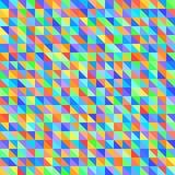 Πρότυπο τριγώνων γεωμετρικό άνευ ραφής διάνυσμα ανασκόπησης Στοκ εικόνες με δικαίωμα ελεύθερης χρήσης