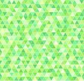 Πρότυπο τριγώνων γεωμετρικό άνευ ραφής διάνυσμα ανασκόπησης Στοκ Φωτογραφία