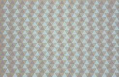 Πρότυπο τριγώνων Στοκ Φωτογραφίες