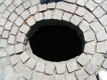 πρότυπο τρυπών τούβλου Στοκ Εικόνα