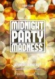 Πρότυπο υποβάθρου αφισών κόμματος Disco νύχτας - διανυσματική απεικόνιση απεικόνιση αποθεμάτων