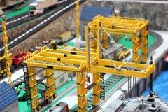 Πρότυπο φραγμών Lego Στοκ φωτογραφίες με δικαίωμα ελεύθερης χρήσης